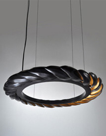 Acacia Chandelier by Fuse Lighting