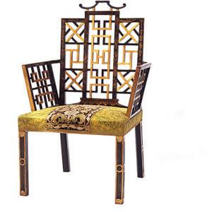 Badminton Chair by Ann Getty House