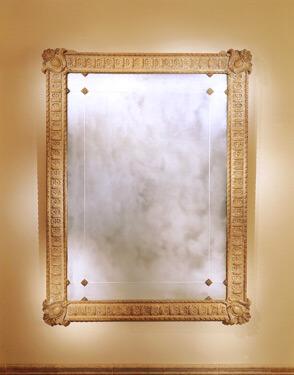Hendrix Allardyce Gold Frame Mirror