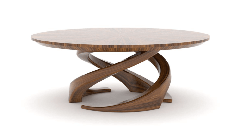 Wooden Trinity Table