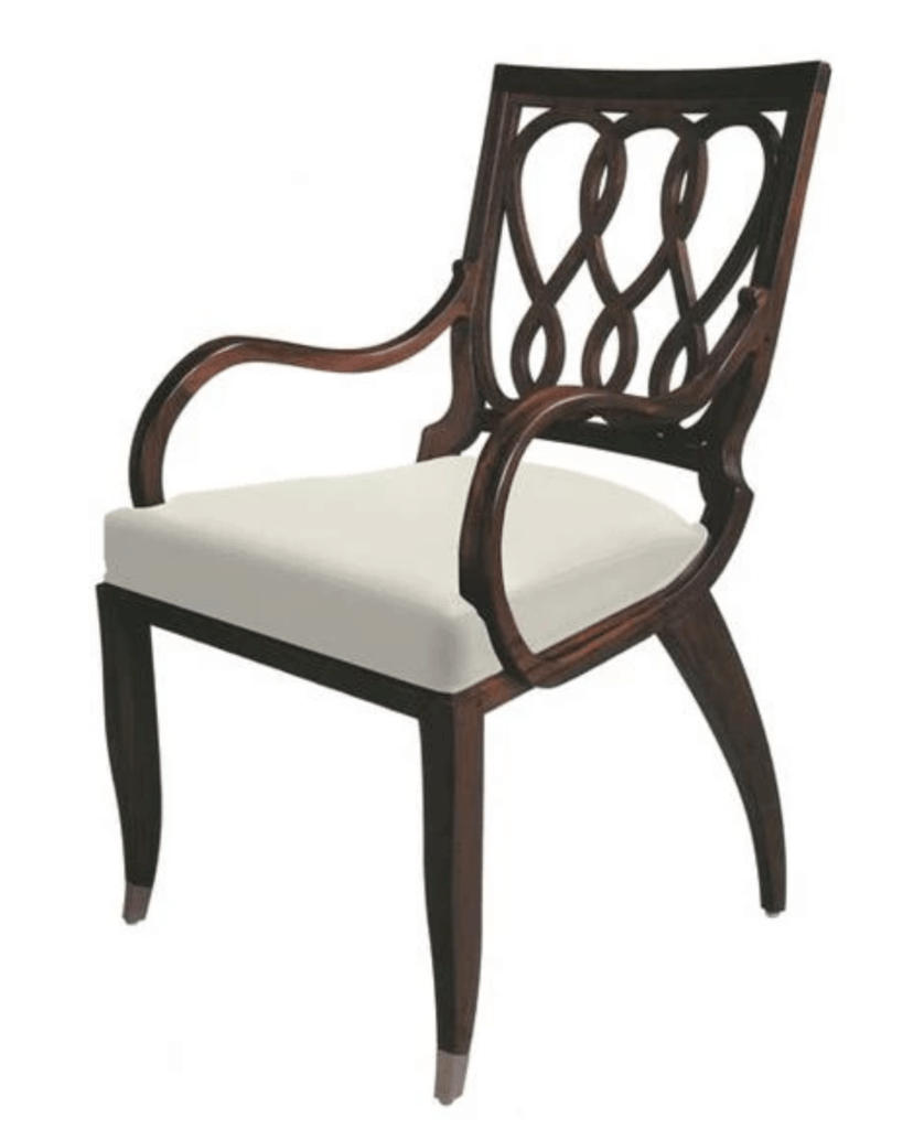 Fauteuil Entrelas Dining Armchair William Switzer