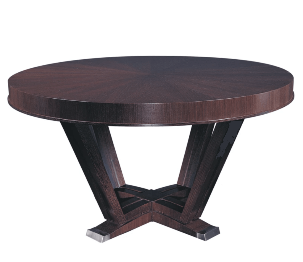 William Switzer Merisier Round Dining Table