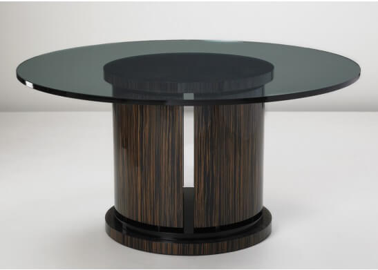Darnell Glass Dining Table