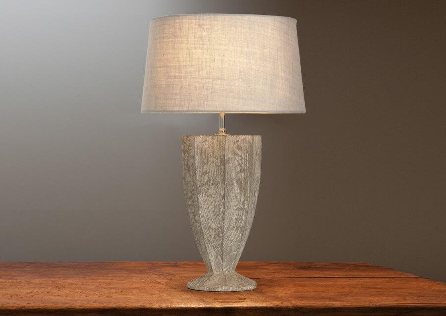 Fluted Urn Lamp