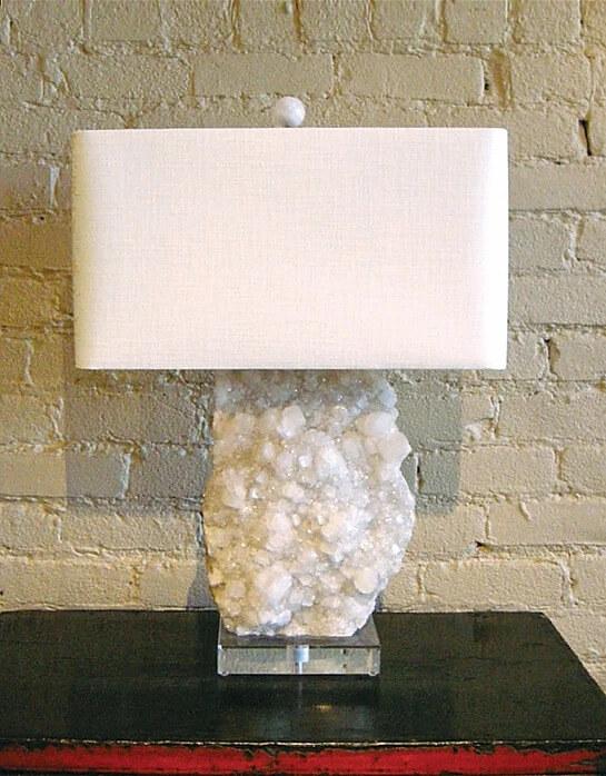 Apophylite Lamp