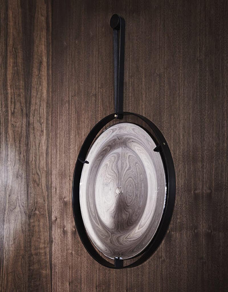 Straight Strap Rippled Mirror